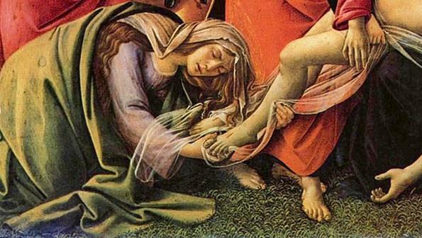 Compianto del Cristo Morto, Botticelli