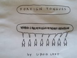 Foreign Tongues. Libretto by Aldo Giannotti