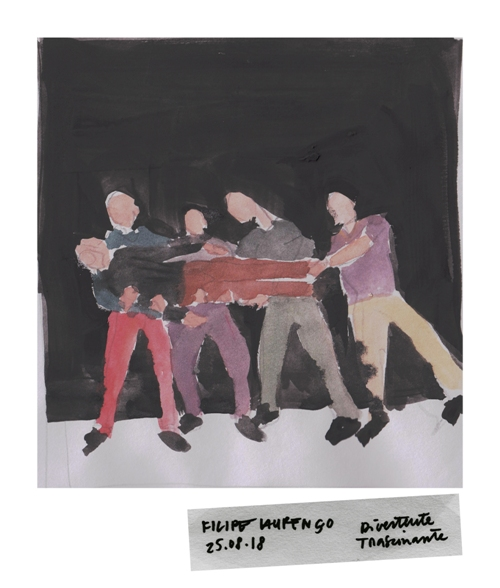 """Homo Furens"" by Filipe Laurenco 
